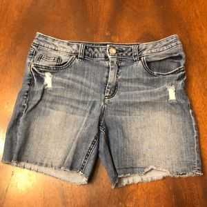 Lauren Conrad Denim Shorts Size 10